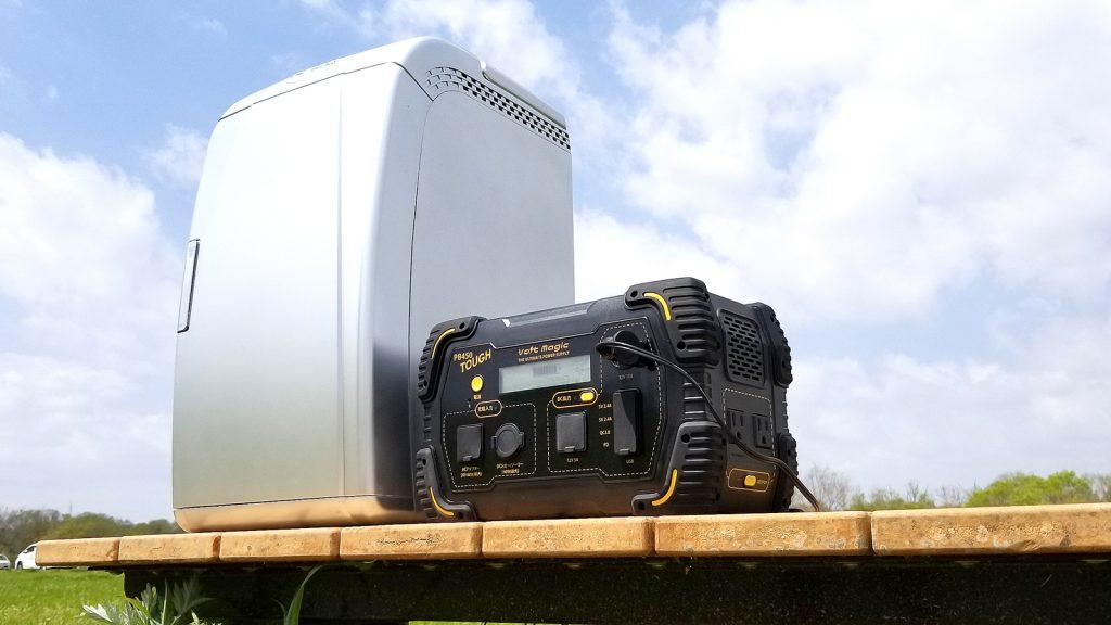PB 450 TOUGHの優れた特徴:大容量